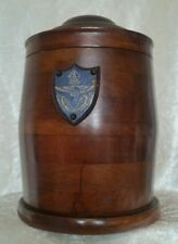Genuine WW1 British RAF RFC Tobacco Jar Made From Propeller Wood MUST SEE