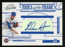 New listing 2005 Playoff Absolute Memorabilia TOTT Nolan Ryan HOF AUTO 7/75 Mets