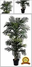 Large 6.5' Realistic Fake Artificial Silk Golden Palm Tree Indoor Plant Patio Tm