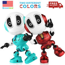Toys Robots Interactive Talking Robot DIY Toy Christmas gift For Boys Girls Kids