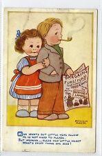 (Gt182-428) Phyllis M.Purser No. 5243, Fur Coats Comic 1954 Used VG