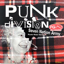Punk Division ‎CD Single Seven Nation Army - France (EX/EX)