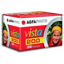 AU - 3 Rolls Agfa Vista Plus 200 Film 35mm 135-36 Color Negative (exp. 2017.09)