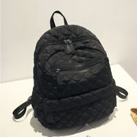 Great Quality Water Resistant Quilted Nylon Backpack Rucksack Daypack Travel Bag