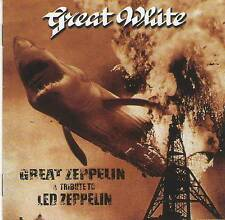 GREAT WHITE - GREAT ZEPPELIN-A TRIBUTE TO LED ZEPPELIN (1998) CD Jewel Case+GIFT