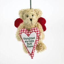 "1248 - Boyds Plush Bear Christmas 2011 Ornament~""Grammykins"" ~ NEW"