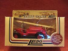 LLEDO  Days-Gone  1934 Dennis  Fire Engine  Red  #12004  London  NIB  (8)