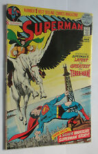 SUPERMAN #249 NEWSTAND FRESH 52 PAGE GAINT ADAMS ART 9.0/9.2