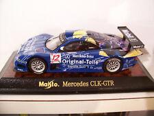 MERCEDES CLK-GTR #12 bleu MOBIL AU 1/43 MAISTO 31504 voiture miniature