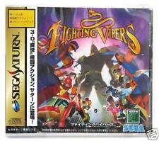 Fighting Vipers (2006) Brand New Factory Sealed Japan Sega Saturn Import Game