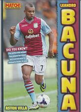 MATCH!-POSTER 2013/14-ASTON VILLA-FC GRONINGEN-LEANDRO BACUNA
