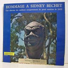 "33 Tours Sidney bechet Vinyl LP 12"" hommage groß Musiker Jazz Musidisc 952"
