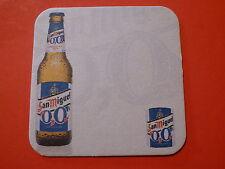 Beer Pub Coaster ~*~ San Miguel Brewery 0.0% ~ Metro Manila, Philippines