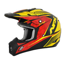 Casco Moto Cross Afx 1104558 Fx-17 Nero
