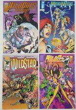 N) Lot of 4 Image Comic Books Wildstar Wildcats MaxiMage
