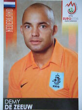 Panini 266 Demy de Zeeuw Niederlande UEFA Euro 2008 Austria - Switzerland