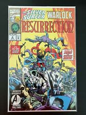 SILVER SURFER WARLOCK RESURRECTION #2 MARVEL COMICS 1993 NM+