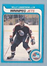1979-80 OPC #368 Willy Lindstrom Winnipeg Jets
