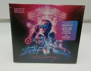 Muse - Simulation Theory (Deluxe CD) New Sealed Digipak