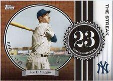JOE DIMAGGIO 2007 Topps THE STREAK # JD23