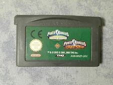 2 IN 1 POWER RANGERS TIME FORCE + NINJA STORM NINTENDO GAME BOY ADVANCE GBA e DS
