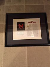 Ny Giants Baseball 1934 Cooperstown Collection Framed Patch