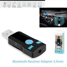 3in1 Adattatore USB Ricevitore Bluetooth 3.5mm Ricevitore Audio Stereo Altoparlanti & Adattatore
