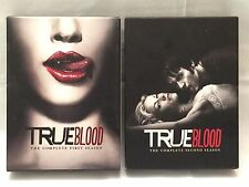 True Blood: Season 1 & 2 (DVD, 2010, Box Sets) HBO Hit Show!!