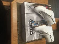Jackson Ultima child Ice Skates(size 4)used only one season