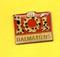 Pin's lapel pin pins LES 101 DALMATIENS CHIEN DOG DALMATIANS Signé DISNEY / A.B.