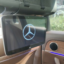 Car Bluetooth Headrest DVD With Monitor For Mercedes-Benz Back Seat Android 9.0