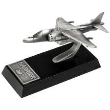 Harrier Gr7 Desk Model Made In Britain from Pewter paperweight collector