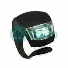 New OPuty Bike Cycling Frog LED Front Head Rear Light Waterproof Lamp Black