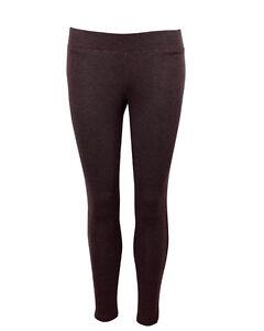 Cyberjammies Ladies Warm Thermal Knit Leggings Brown ~ BNWT ~ Size 22