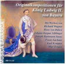 Musica Bavarica CD Originalkompositionen für König Ludwig II. mit Richard Wagner