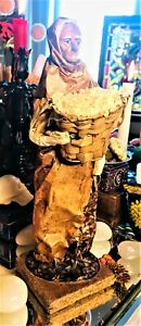 🤎 Meet Nita Our Spirited Travelling Nit Rice Bread Barer Paper Mache Vessel