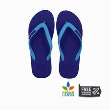 WAVES- FLIP FLOP Men Women Natural Rubber Slippers | Flat Sandals  FLIP-FLOP