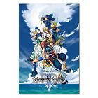 Kingdom Hearts II 2 Poster - PS2 Box Art Exclusive - High Quality Prints
