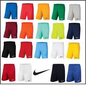 Nike Mens Shorts Football Dri Fit Park Gym Training Sports Running Short SM L XL