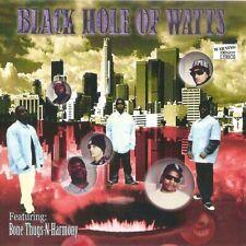 CD: BLACK HOLE OF WATTS - Selftitled (505 Music) Sealed Cali Rap G-Funk Eazy-E