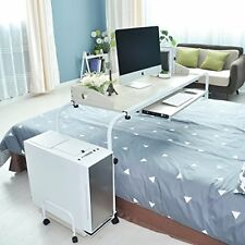 """Soges Overbed Table 47"""" Laptop Cart Hospitable Bed Table Computer Table Nursing"""