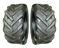 TWO (2) 23x10.50-12 LRB Imported SUPER LUG style Ag Lug tractor - trencher tire
