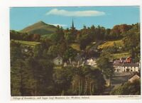 Village Of Enniskerry Sugar Loaf Mountain Co Wicklow Ireland 1973 Postcard 985a