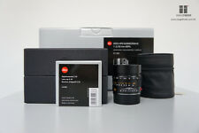 Brand New Leica APO-Summicron-M 50mm F2.0 ASPH - Black (11141) for M 240 / M10
