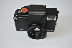 Agfa Optima SENSOR FLASH Solitar f/2.8 GERMANy Lomography Film TESTED Camera
