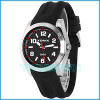 Hochwertige Herren XONIX Armbanduhr WR200m analog nickelfrei großes Ziffernblatt