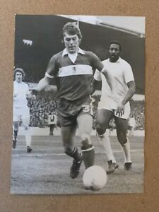 7x5 Original West Ham WHU Press Photo at Middlesbrough. Jones, Best, Holland