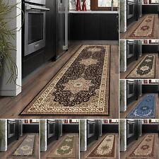 Traditional Kitchen Floor Carpet Runner Rug Modern Non Slip Hall Runner Mat Rug