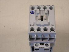Allen Bradley 100-C09UDJ10 24 VDC Starter 100C09UDJ10 100-C09D*10 100-C09D