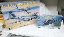 2 Revell Airplane Model Kits B176 Fortress & F44-4 Corsair Both 1:48 New Other